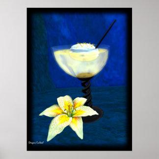 Cóctel: Merengue del limón Póster