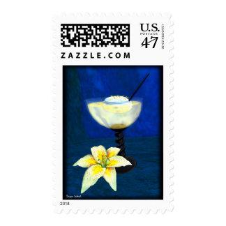 Cóctel: Merengue del limón Timbre Postal