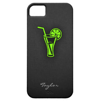 Cóctel verde chartreuse, de neón iPhone 5 protectores