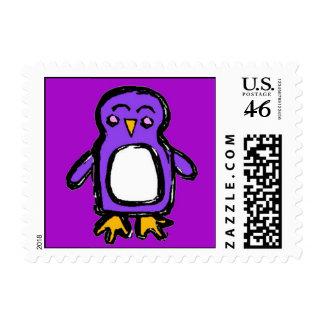 Coctelera del franqueo el pingüino púrpura