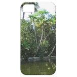 Cocunut y otros árboles acercan a la laguna del iPhone 5 Case-Mate protector