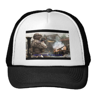 cod4ps3-06, serve your country trucker hat