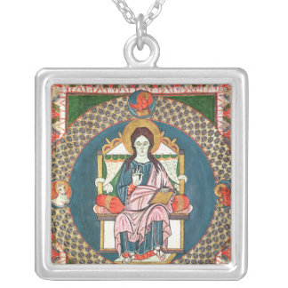Cod. 1948 Christ in Majesty Silver Plated Necklace