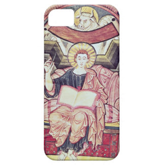 Cod 22. f.85v St. Luke the Evangelist, from Treves iPhone 5 Covers