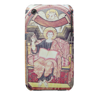 Cod 22. f.85v St. Luke the Evangelist, from Treves iPhone 3 Covers