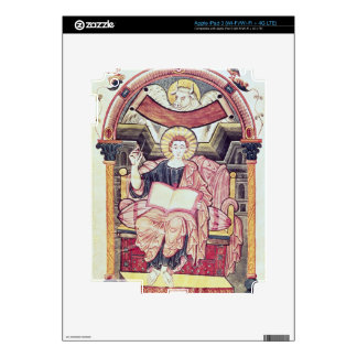 Cod 22. f.85v St. Luke the Evangelist, from Treves Decal For iPad 3