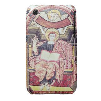 Cod 22. f.85v St. Luke the Evangelist, from Treves iPhone 3 Case-Mate Case
