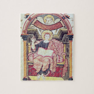 Cod 22. f.85v St. Luke the Evangelist, from Treves Jigsaw Puzzle