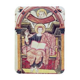Cod 22. f.85v St. Luke the Evangelist, from Treves Magnet