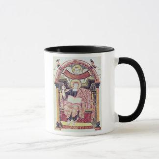 Cod 22. f.85v St. Luke the Evangelist, from Treves Mug