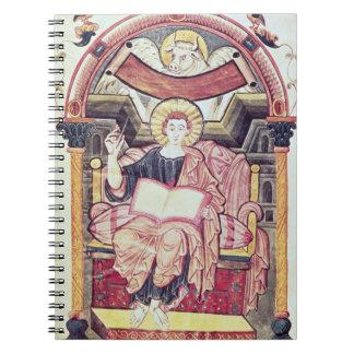 Cod 22. f.85v St. Luke the Evangelist, from Treves Spiral Notebook