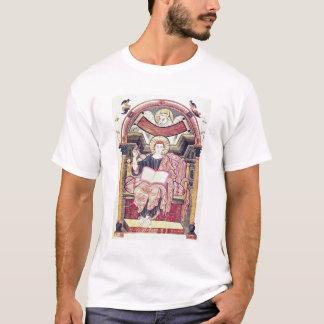 Cod 22. f.85v St. Luke the Evangelist, from Treves T-Shirt