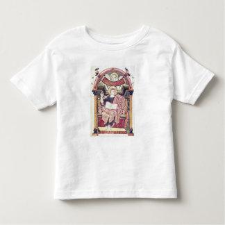 Cod 22. f.85v St. Luke the Evangelist, from Treves Toddler T-shirt