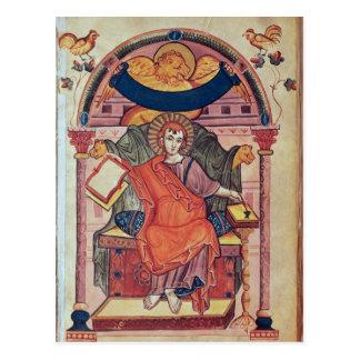 Cod.22 St. Mark, from the Ada manuscript Postcard
