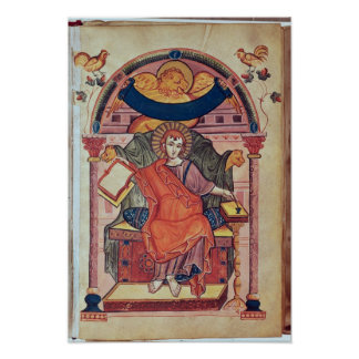 Cod.22 St. Mark, from the Ada manuscript Poster
