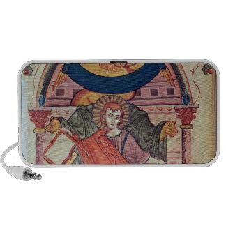 Cod.22 St. Mark, from the Ada manuscript Laptop Speakers