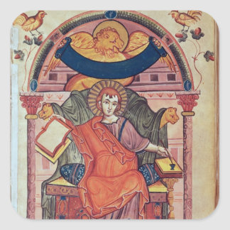 Cod.22 St. Mark, from the Ada manuscript Square Sticker