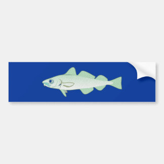 Cod codfish fish fish bumper sticker