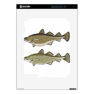 Cod Fish Decal For iPad 2