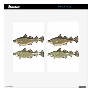 Cod Fish Decals For Kindle Fire