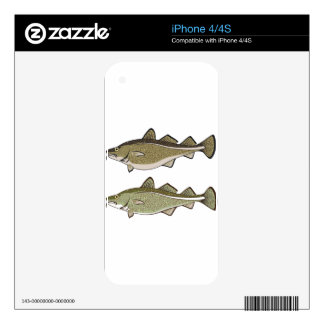 Cod Fish Decals For The iPhone 4S