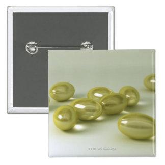 Cod Liver Oil Capsules Pinback Button