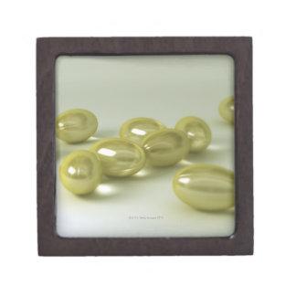 Cod Liver Oil Capsules Premium Keepsake Box