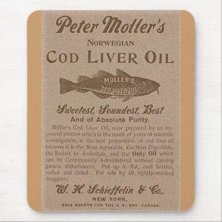 Cod Liver Oil Mouse Pad