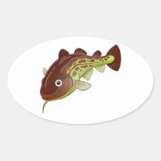 Cod Oval Sticker
