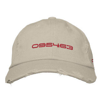 CODE 095463 EMBROIDERED HATS