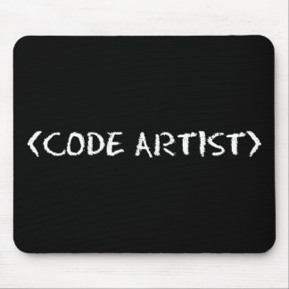 CODE ARTIST MOUSE PAD