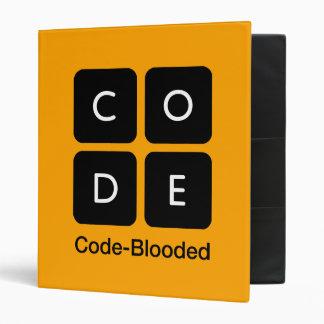 Code-Blooded Vinyl Binders