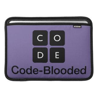 Code-Blooded MacBook Air Sleeve