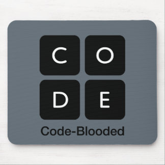 Code-Blooded Mouse Pad