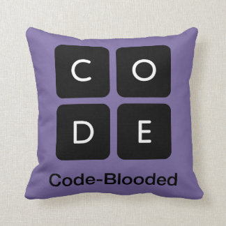 Code-Blooded Pillow