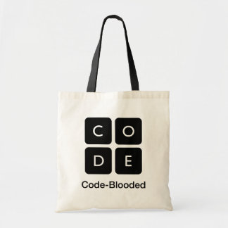 Code-Blooded Tote Bag