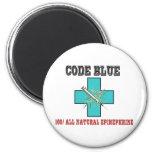 Code Blue 100% All Natural Epinephrine Fridge Magnets