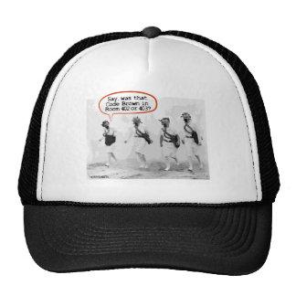 Code Brown for Nurses Trucker Hat