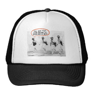 Code Brown for Nurses Mesh Hats