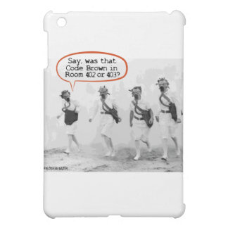 Code Brown for Nurses iPad Mini Cases