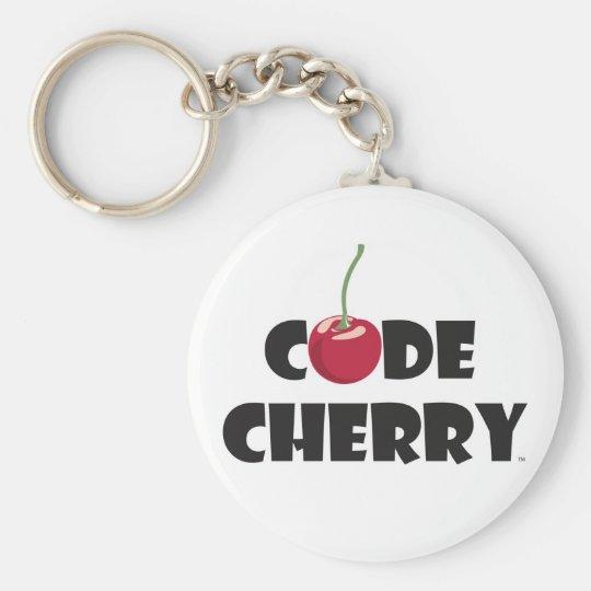 Code Cherry Key Chain