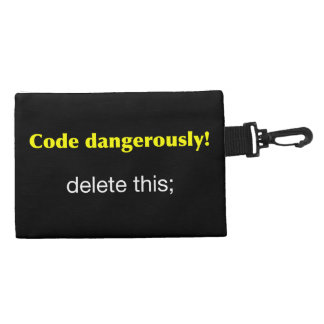 Code Dangerously! Accessory Bag