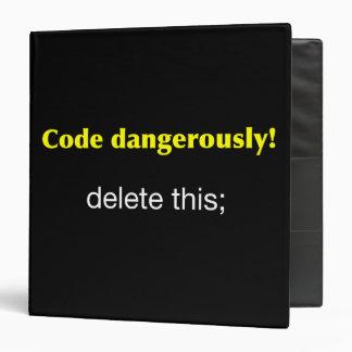 Code Dangerously Binder