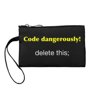 Code Dangerously! Coin Purse