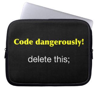 Code Dangerously Computer Sleeves