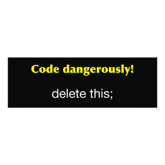 Code Dangerously! Photo Print