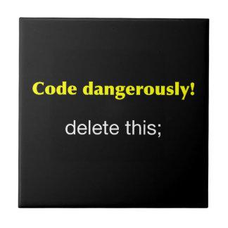 Code Dangerously Tile