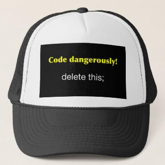 Code Dangerously Trucker Hat