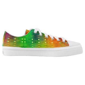 Code Deco Rainbow Low-Top Sneakers
