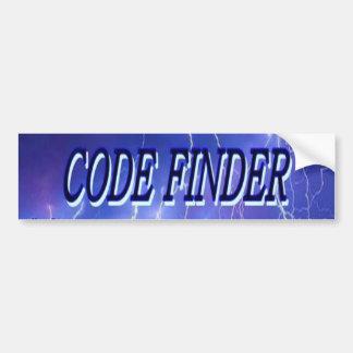 Code Finder Bumper Sticker